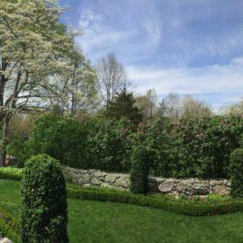Weir Farm Sunken Garden, Wilton